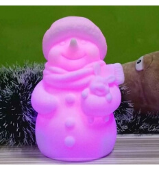 Snowman - LED luminose multicolore