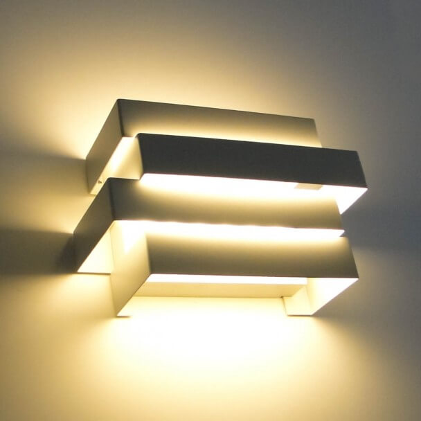 Applique led modern design scala 6x1w for Saldi lampade design