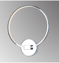 Applique - design cromo LED - Collection Circle