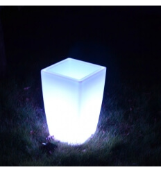 Vaso luminoso LED multicolore 50 cm