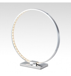 Lampada da tavolo - design cromo LED - Collection Circle