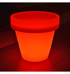 Vaso luminoso LED multicolore 30 cm