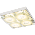 Plafoniera prestige LED cristallo  - July