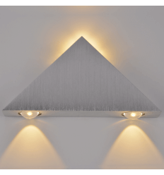 Applique LED design cone cromo - Pyramida