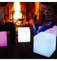 Cubo luminoso waterproof con cartello solare - Sun