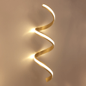 Luce a Muro Oro Letters Chic - Millenium